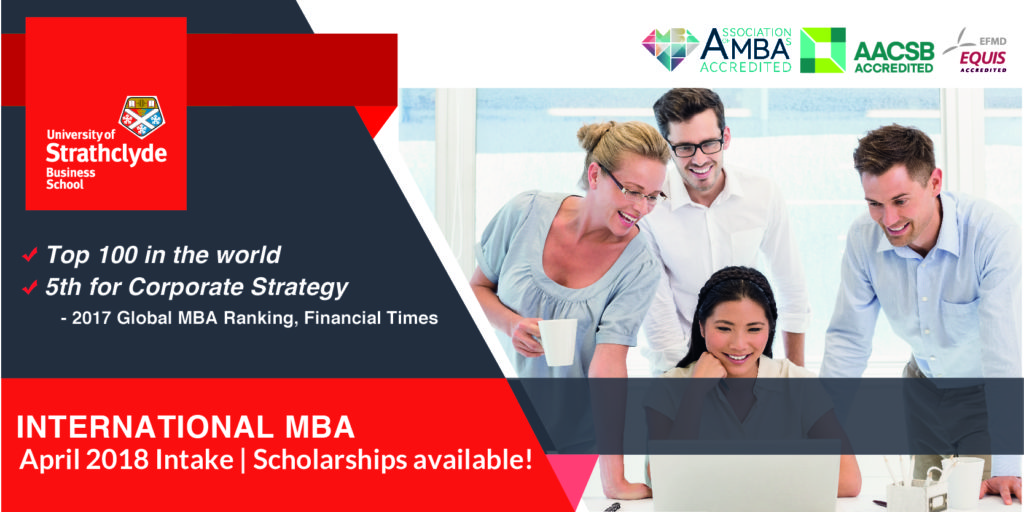 strathclyde mba Founded in 1948, the university of strathclyde business school (sbs) is a pioneering, internationally renowned academic organisation that shapes and.